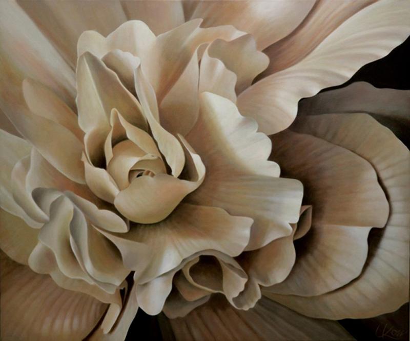 Begonia 8, 30x36 (Sold)
