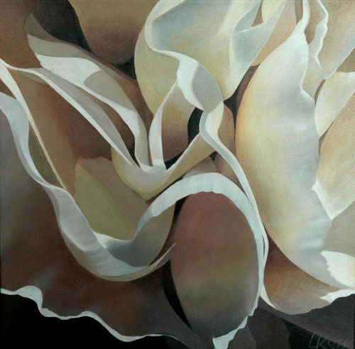 Carnation 10, 12x12 (Sold)