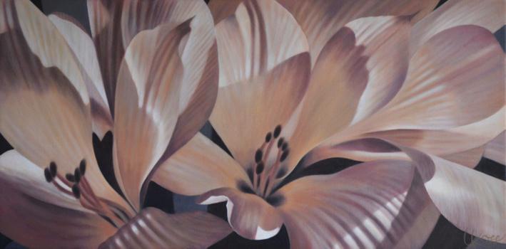 Alstroemeria 1, 15x30 (Sold)